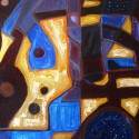 #1217 Oil on Canvas, Time Portals