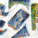 #846, Willard Art, Webs, Watercolor, Abstract