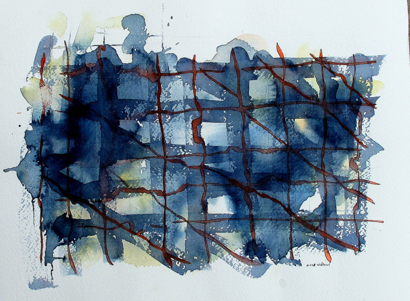 #1028 Abstract Watercolor