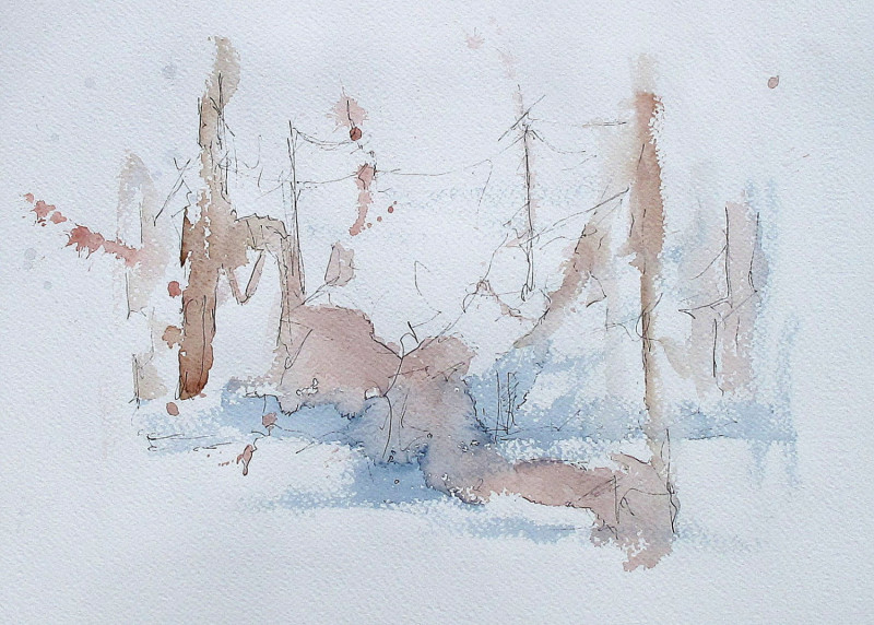 #1029 Abstract Watercolor