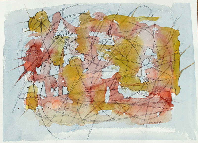 #1055 Abstract watercolor