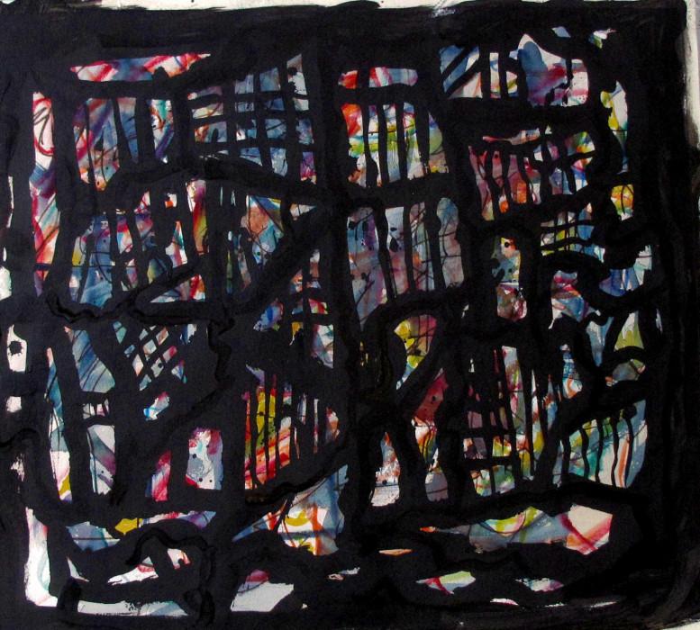 #1125 Abstract Mixed Media