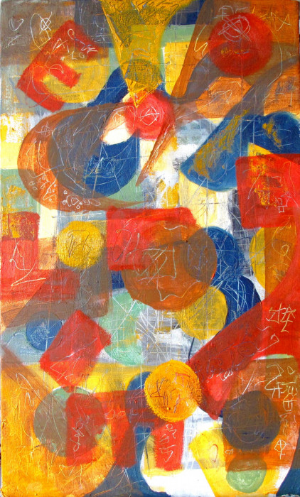 #1169 Oil on canvas