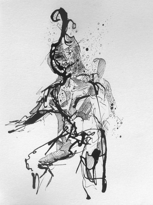 Drawing, Pen & Ink, #1178, Willard Art