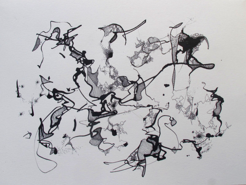 Pen & Ink, #1182