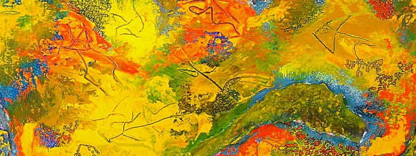 #565 Abstract acrylic